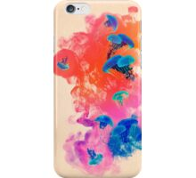 Psychedelic Ink Jellyfish Dream Watercolor iPhone Case/Skin