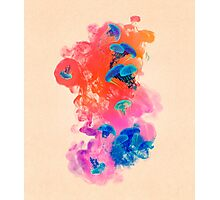 Psychedelic Ink Jellyfish Dream Photographic Print