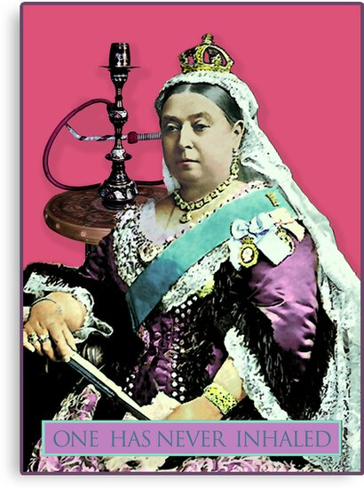 The Queen and the Hookah by Sarah Vernon