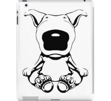 English Bull Terrier Sit Design iPad Case/Skin