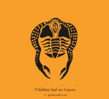 Trilobites had no Cancer by Glendon Mellow