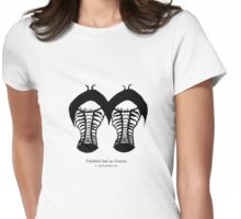 Trilobites had no Gemini.  Womens Fitted T-Shirt