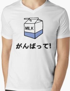 MilK Mens V-Neck T-Shirt