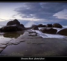 Dawn upon Forresters Beach, NSW, Australia by Tranclan5