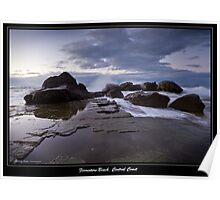 Dawn upon Forresters Beach, NSW, Australia Poster