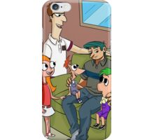 The Flynn Fletcher Family  iPhone Case/Skin
