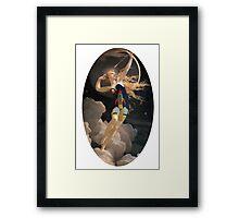 RocketMaid (Unframed) Framed Print