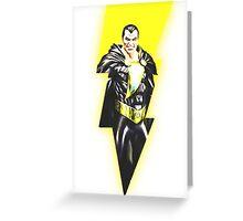 Black Adam Greeting Card