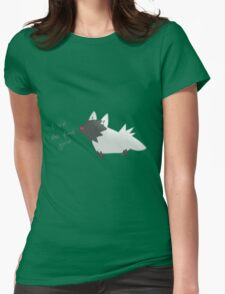 Poochyena Womens Fitted T-Shirt