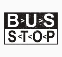Bus Stop T Shirts, Stickers and Other Gifts Kids Clothes