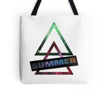 Summer and Triangles Tote Bag