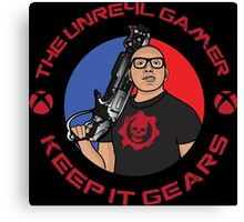 The UNRE4L Gamer Canvas Print