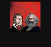 HEGEL AND MARX, communist philosophers Unisex T-Shirt