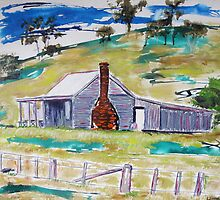 Country Cottage  by gillsart