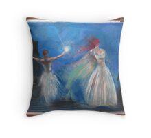 ''Dancers'' Throw Pillow