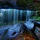 Behind The Falls by Ian English