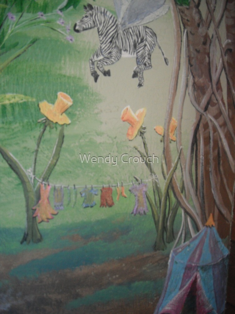 Fairy Camp by Wendy Crouch
