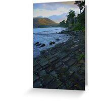 Tessellated Pavement Greeting Card