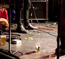 Mid-gig refreshments... by GoldZilla