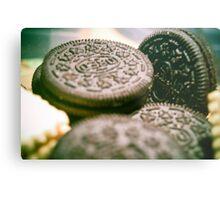 Oreo Biscuits Metal Print