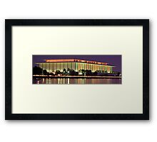 The Kennedy Center for the Performing Arts Framed Print
