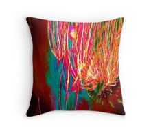Abstract Fireworks 1 Throw Pillow