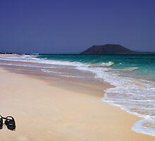 Wish You Were Here...Fuerteventura by David Lewins