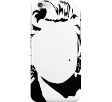 Marilyn Monroe vacant expression iPhone Case/Skin