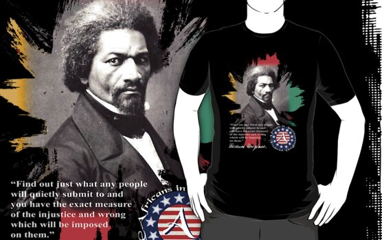 frederick douglass by arteology