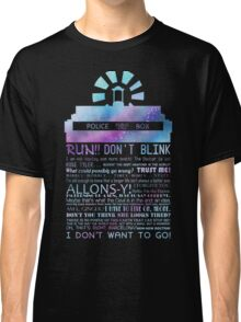 10TH doctor QUOTES Classic T-Shirt