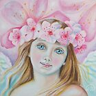 Cherry Blossom Angel  by Lana Wynne