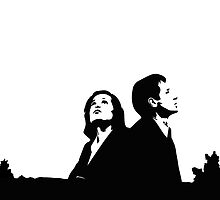 MULDER & SCULLY - I WANT TO BELIEVE by paton