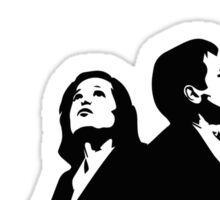 MULDER & SCULLY - I WANT TO BELIEVE Sticker