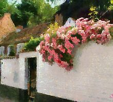Beguinage Flowers - Lier - Belgium by Gilberte