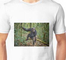 Portrait of a chimpanzee Unisex T-Shirt