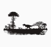 T-Rex hunting Kids Clothes