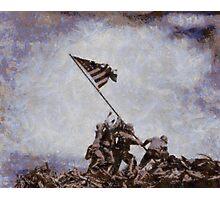 Iwo Jima by John Springfield Photographic Print