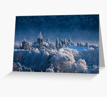 Fort Augustus Abbey in Winter Greeting Card