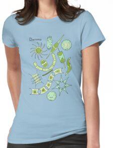 Diatoms Womens Fitted T-Shirt