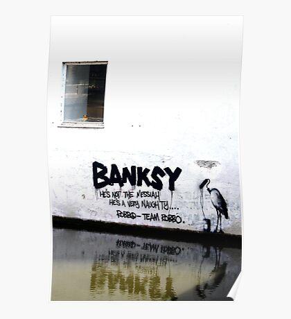 Banksy vs. TEAM ROBB☮ Poster