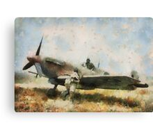 Spitfire by John Springfield Canvas Print