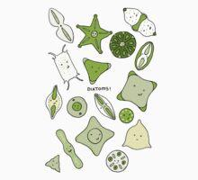 More Diatoms Kids Tee