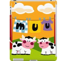 Two Cows iPad Case/Skin