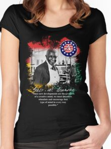 george washington carver Women's Fitted Scoop T-Shirt