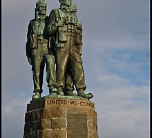The Commando Memorial at Spean Bridge by Jessica Smith