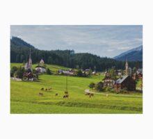 Gosau village, Salzkammergut One Piece - Long Sleeve
