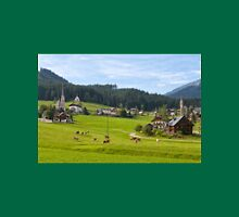 Gosau village, Salzkammergut Unisex T-Shirt