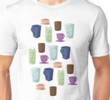 Drinks in Cups Unisex T-Shirt
