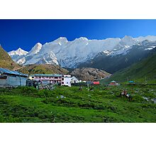 Himalaya Range As Seen from Kedarnath Photographic Print