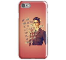 DON'T BLINK!! iPhone Case/Skin